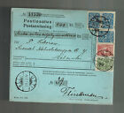 1914 Utti Finland Russia Parcel Post Receipt COver to Helsinki