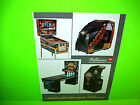 Williams 1984 Firepower II Pinball & Arcade Games Promo Advertising Not A Flyer