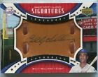 2007 Sweet Spot Classic Signatures Leather Gold Ink Billy Williams Auto 1 50