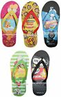 SUNTIME Various Sizes+Styles FLIP FLOPS Sandals SUMMER Characters YOU CHOOSE