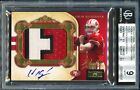 2011 National Treasures COLIN KAEPERNICK Rookie Auto Jersey Patch BGS 9 #35 49