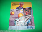 EMBRYON By Bally 1981 Original NOS PINBALL MACHINE Promo Sales Flyer NON STAMPED