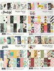 Simple Stories 6 x 8 Double Sided Paper 24 Pack