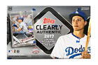 2017 Topps Clearly Authentic Baseball MLB Factory Sealed Hobby Edition Box