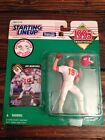 1995 JOE MONTANA STARTING LINEUP Figure RETIREMENT EDITION KC Chiefs with Case