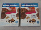 40 NEW WEIGHT WATCHERS PEANUT BUTTER Chocolate BROWNIE BLISS 90 CALORIES 4 Pts