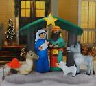 NEW Christmas NATIVITY Airblown Inflatable Yard Decor Over 6 Home Accents
