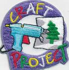 Girl Boy Cub CRAFT PROJECT Crafting Kit Fun Patches Crests Badges SCOUT GUIDES