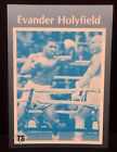 Evander Holyfield Boxing Cards and Autographed Memorabilia Guide 3