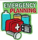 Girl Boy Cub EMERGENCY PLANNING Kit Fun Patches Crests Badges SCOUTS GUIDES