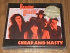 Hanoi Rocks JAPAN rare Cheap And Nasty JAN STENFORS limited edition CD complete!