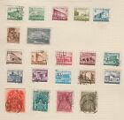 HUNGARY Magyar Posta Collection etc On Album Page Removed for Postage