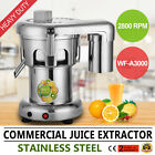 Commercial Juice Extractor Stainless Steel Juicer Heavy Duty WF-A3000 PRO