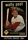 1959 Topps #398 Wally Post Phillies NM MT