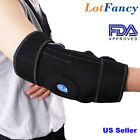 Arm Elbow Ice Pack Support Sleeve Wrap Brace Cold Hot Thermal Therapy Injuries