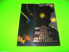 Gottlieb BUCK ROGERS Original 1979 NOS Pinball Machine Promo Sales Flyer Foldout