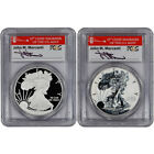 2012 S American Silver Eagle 75th Ann 2 pc Set PCGS PR69 First Strike Mercanti