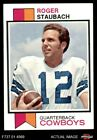 Top Roger Staubach Football Cards for All Budgets 25