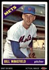 1966 Topps #443 Bill Wakefield Mets GOOD