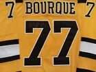 Ray Bourque signed Boston Bruins Autographed Jersey HOF 04 Inscription