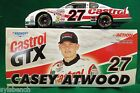 NASCAR Racing Car DieCast 1:24 Scale Stock Car #27 Casey Atwood  NIB Also a Bank