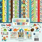 LITTLE MAN Echo Park 12x12 Collection Kit Boy Kid Son Scrapbook Pocket Page