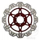 EBC Front Brake Disc Vee Rotor Red Laverda Ghost 650 Legend 1996-1997