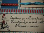 Dr Seuss Sometimes you will never know Quote Premade 12x12 Scrapbook Pages