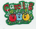 Girl Boy Cub Christmas CAROLING Bulb Fun Patches Crests Badges SCOUT GUIDE Carol