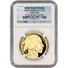 2006 W American Gold Buffalo Proof 1 oz 50 NGC PF70 UCAM First Year of Issue