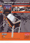 STERN HARLEY DAVIDSON THIRD EDITION ORIGINAL MINT NOS PINBALL MACHINE FLYER RARE