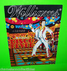 DISCO FEVER By WILLIAMS 1978 ORIGINAL PINBALL MACHINE PROMO SALES FLYER BROCHURE