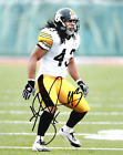 Troy Polamalu Pittsburgh Steelers 8 x10 Reprint Signed Photo