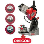 Oregon 620 120 Premium Hydraulic Bench Grinder Chainsaw Chain Sharpener