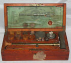Antique 19th C Society of Arts Blowpipe Apparatus Assay Set by Letcher England