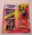 1992 Starting Lineup Figure SLU NBA Reggie Miller Indiana Pacers with Poster