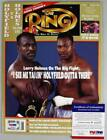 Evander Holyfield Boxing Cards and Autographed Memorabilia Guide 35