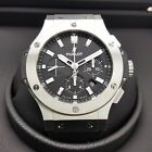 Hublot Big Bang 44mm Chronograph Automatic Steel Rubber Watch 301.SX.1170.RX