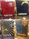 New Licensed NFL Super Soft Thick Sherpa Throw 50x60 Blanket MSRP 40 Great Gift