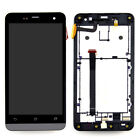 For Asus Zenfone 5 A500CG A500KL LCD Touch Screen Digitizer Frame Assembly Part