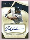 Rickey Henderson NY Yankees 2014 Immaculate Collection Baseball Auto Card 19 25