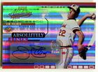 2002 Absolute Memorabilia JIM PALMER Absolutely Ink Numbers Auto Rare SP # 22