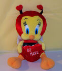 WARNER BROTHERS LOONEY TUNES 7 RED TWEETY BIRD WITH A RED HEART BE MINE