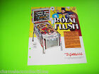 ROYAL FLUSH By GOTTLIEB 1976 ORIGINAL USED PINBALL MACHINE PROMO SALES FLYER