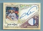 JACOB DEGROM 2017 GYPSY QUEEN AUTOGRAPHED GARMENTS GAME WORN JERSEY AUTO 50