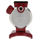 Cuisinart Vertical Waffle Maker (Red) one size stainless steel top cover new