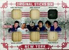 2017-18 LUMBER KINGS SSP 5/5 GAME USED STICK X6 RANGERS RED PARALLEL MESSIER+++