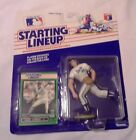 1989 Starting Lineup Figure SLU MLB Mark Gubicza Kansas City Royals w/Card