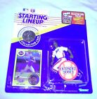 1991 Starting Lineup Figure MLB Vince Coleman New York Mets w/Coin