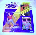 1992 Starting Lineup Figure SLU MLB Chris Sabo Cincinnati Reds w/Poster